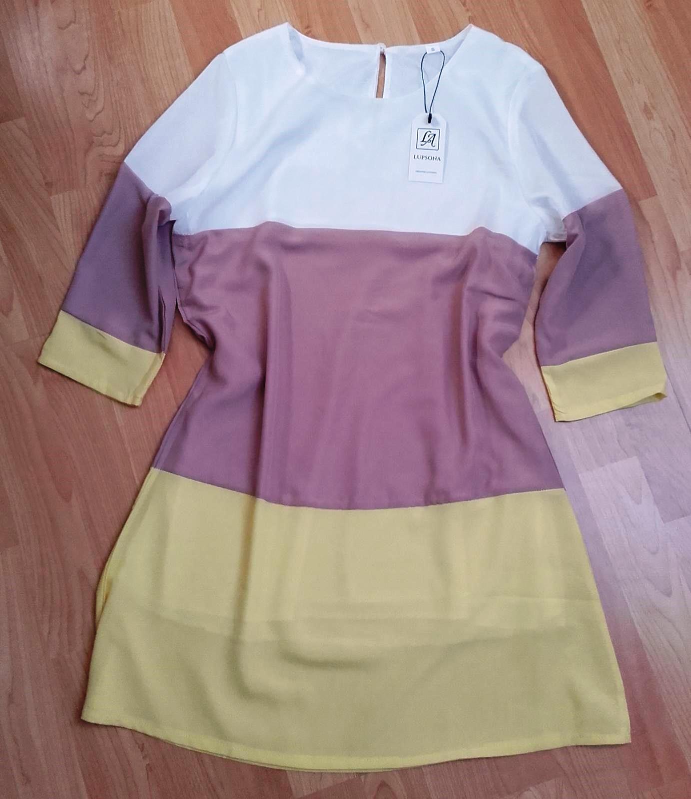 Lehké šaty pruhované  - Obrázek č. 1
