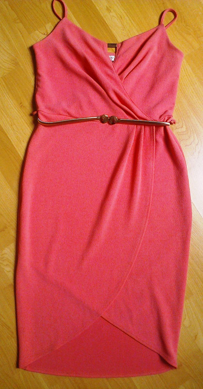 Tulipánové šaty s páskem - Obrázek č. 2