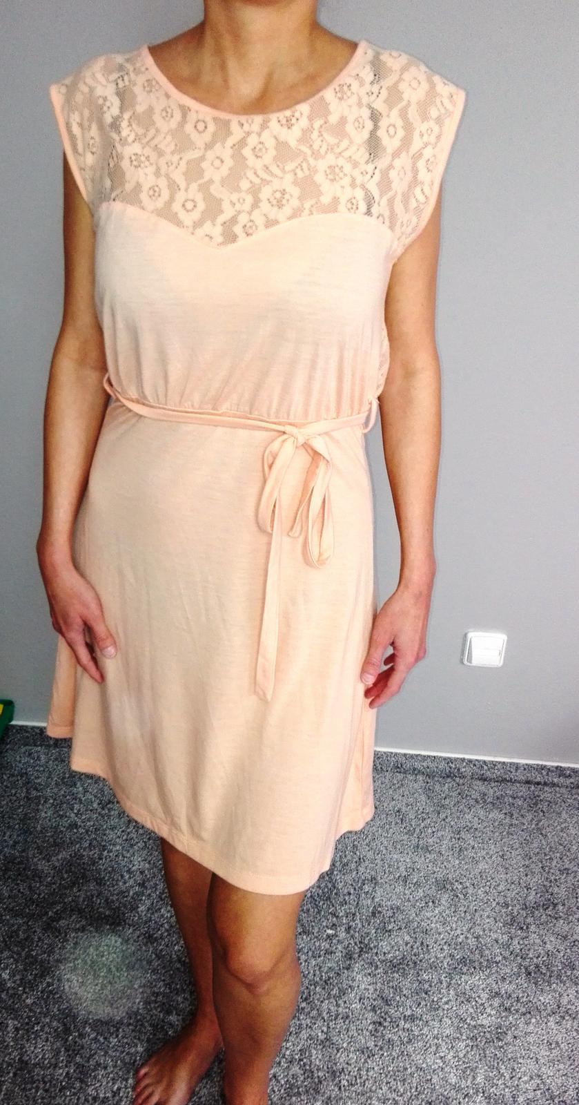 Lososové letní šaty - Obrázek č. 1