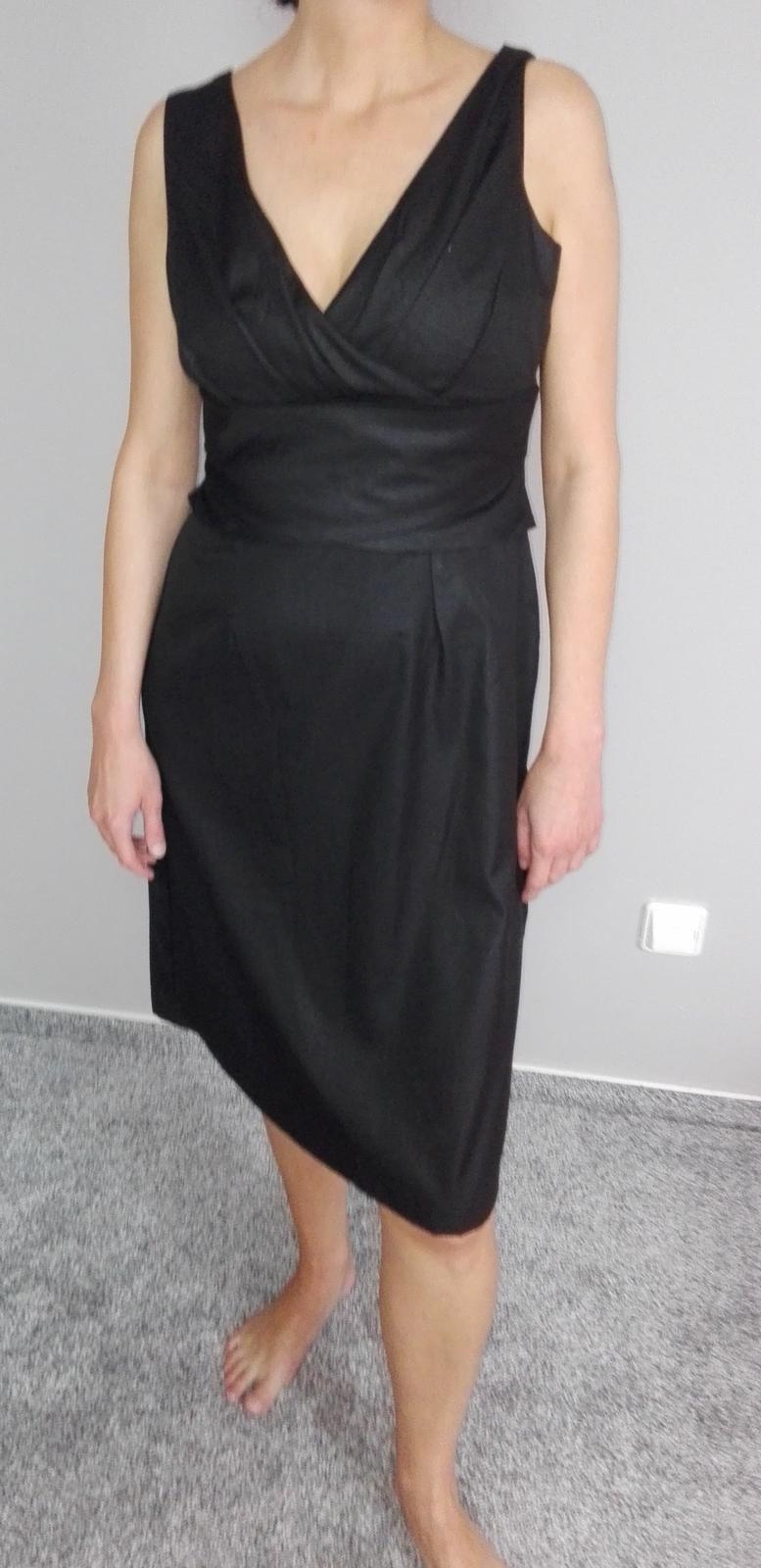 Šaty Orsay černé - Obrázek č. 1
