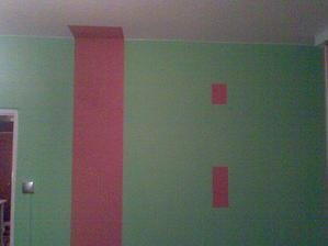 maloval sem mamince ložnici... :o)))