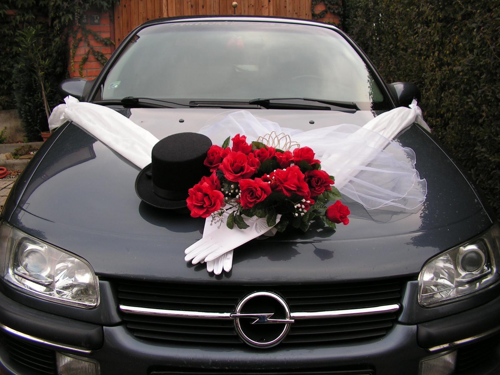 Výzdoba na svadobné auto A 007 - Obrázok č. 1