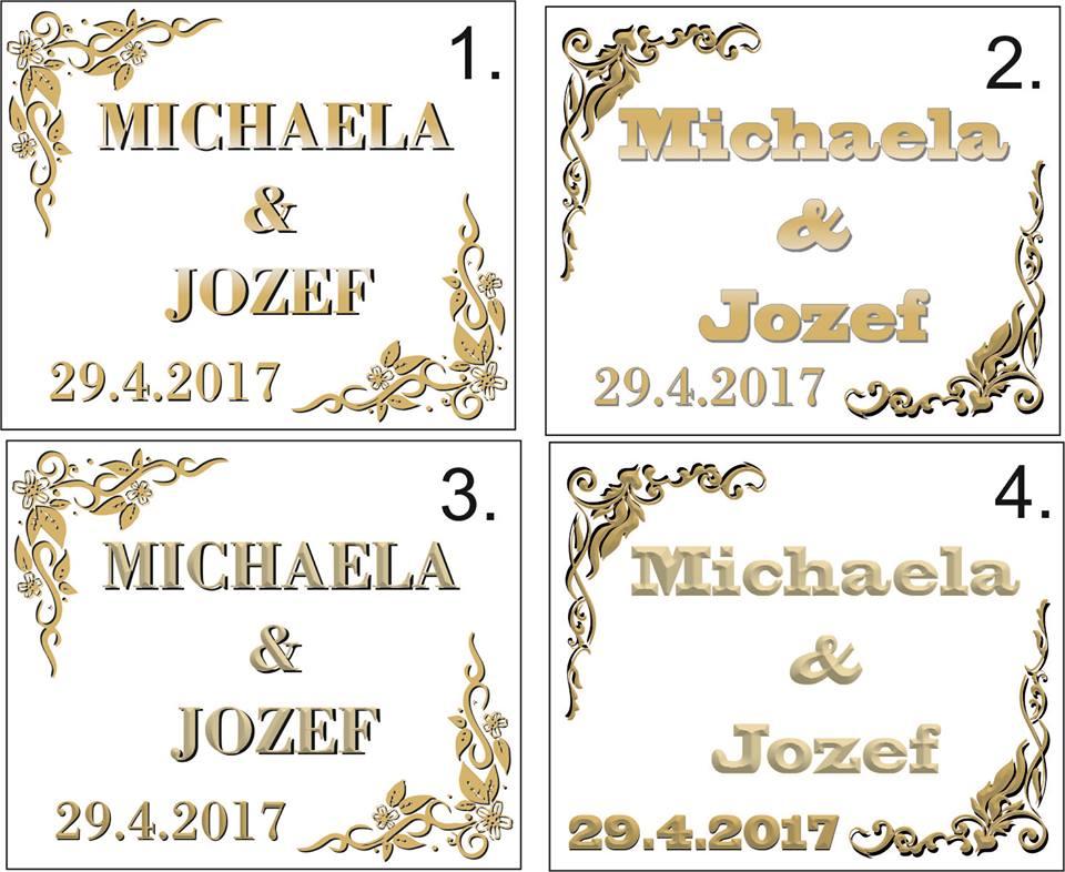 Svadobné etikety V. - Obrázok č. 1