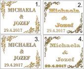 Svadobné etikety V.,