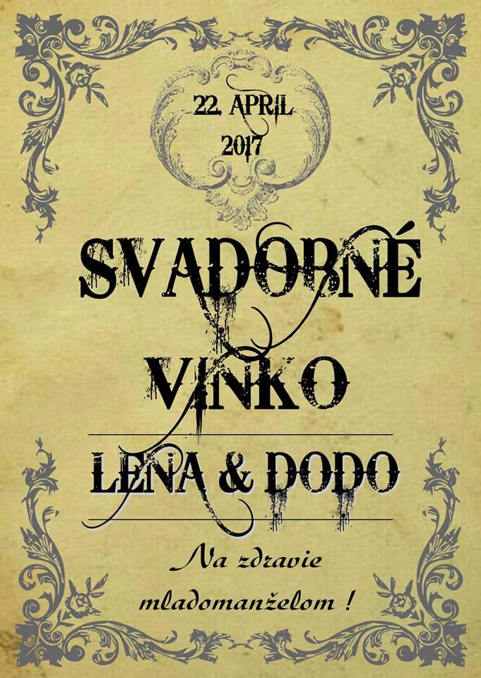 etiketa na víno - Obrázok č. 1