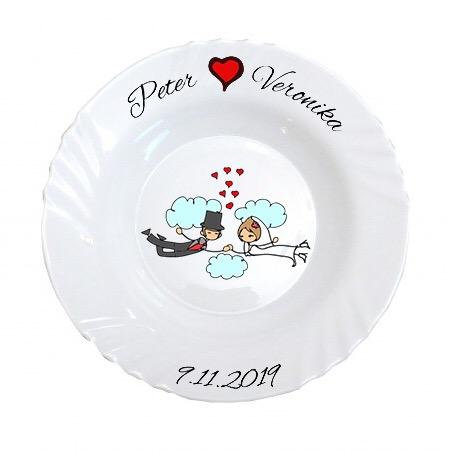 Svadobný tanier - Obrázok č. 1