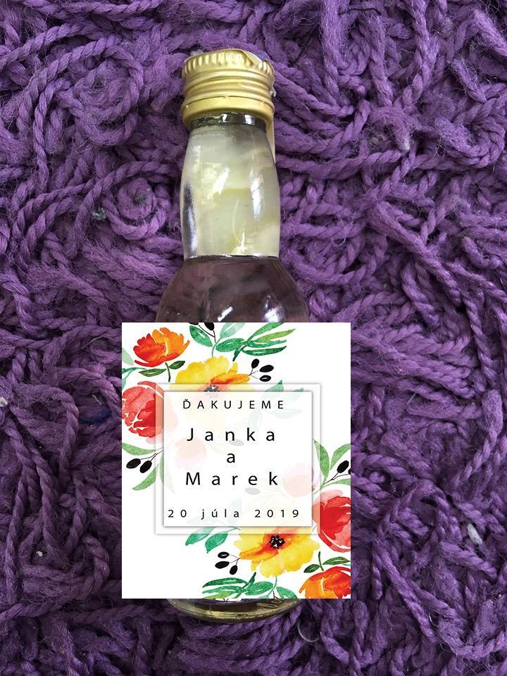 Fľaštičky pre svadobčanov CC - Obrázok č. 1