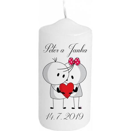 Svadobna sviečka - Obrázok č. 1