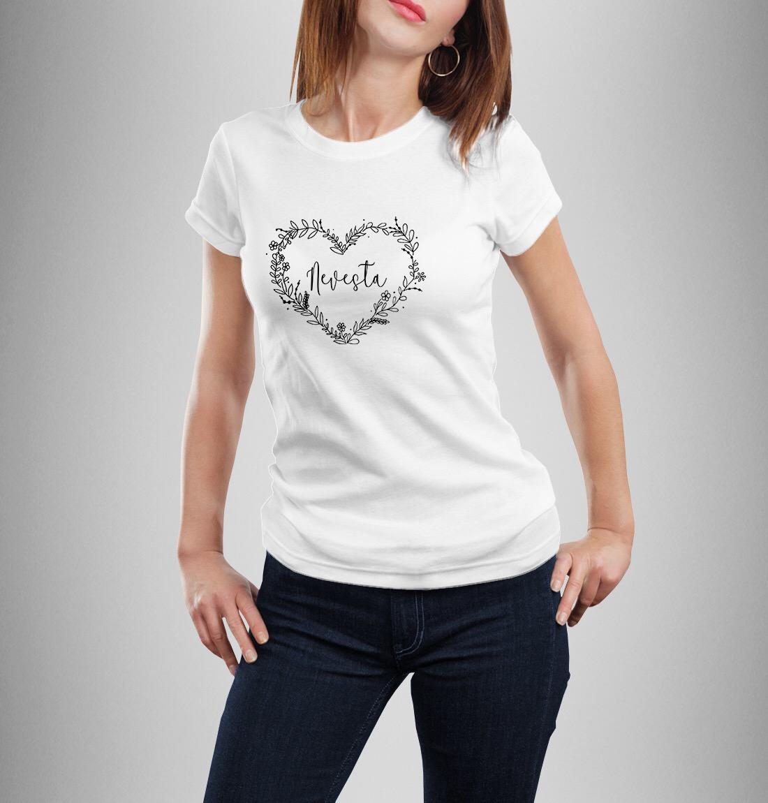 Tričko nielen pre nevestu - Obrázok č. 1