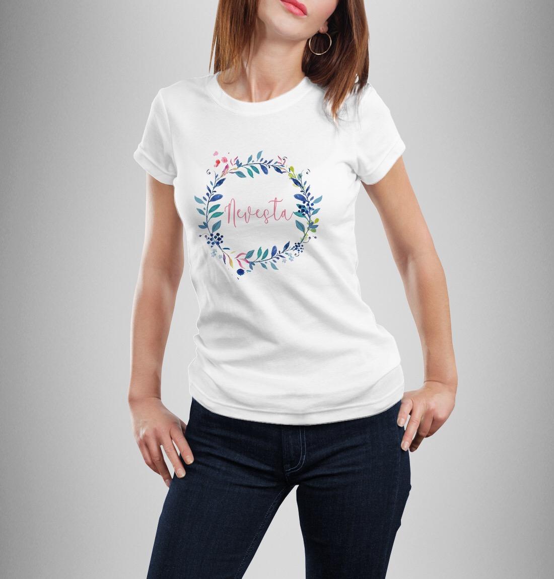 Tričko nie len pre nevestu - Obrázok č. 1