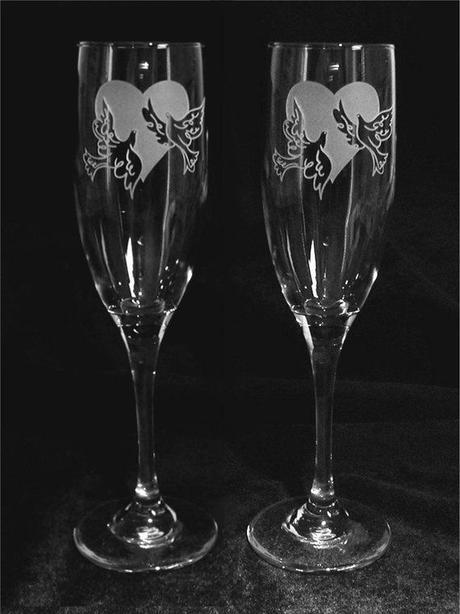 Svadobné poháre WX - Obrázok č. 1