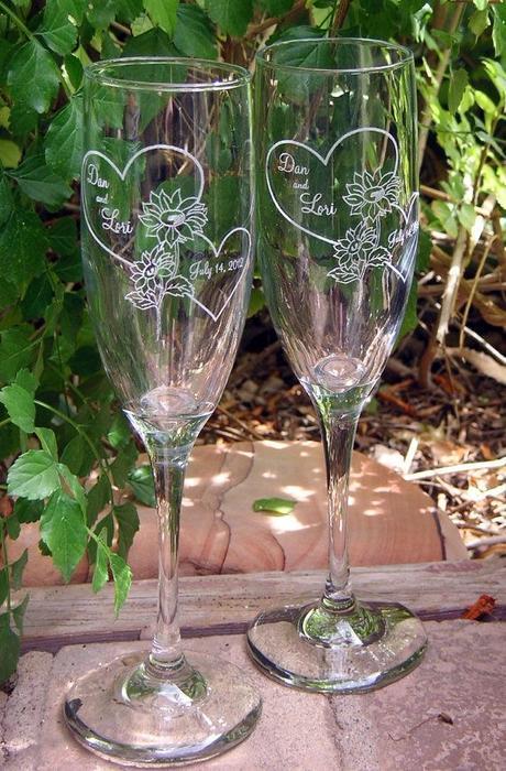 Svadobné poháre DH - Obrázok č. 1