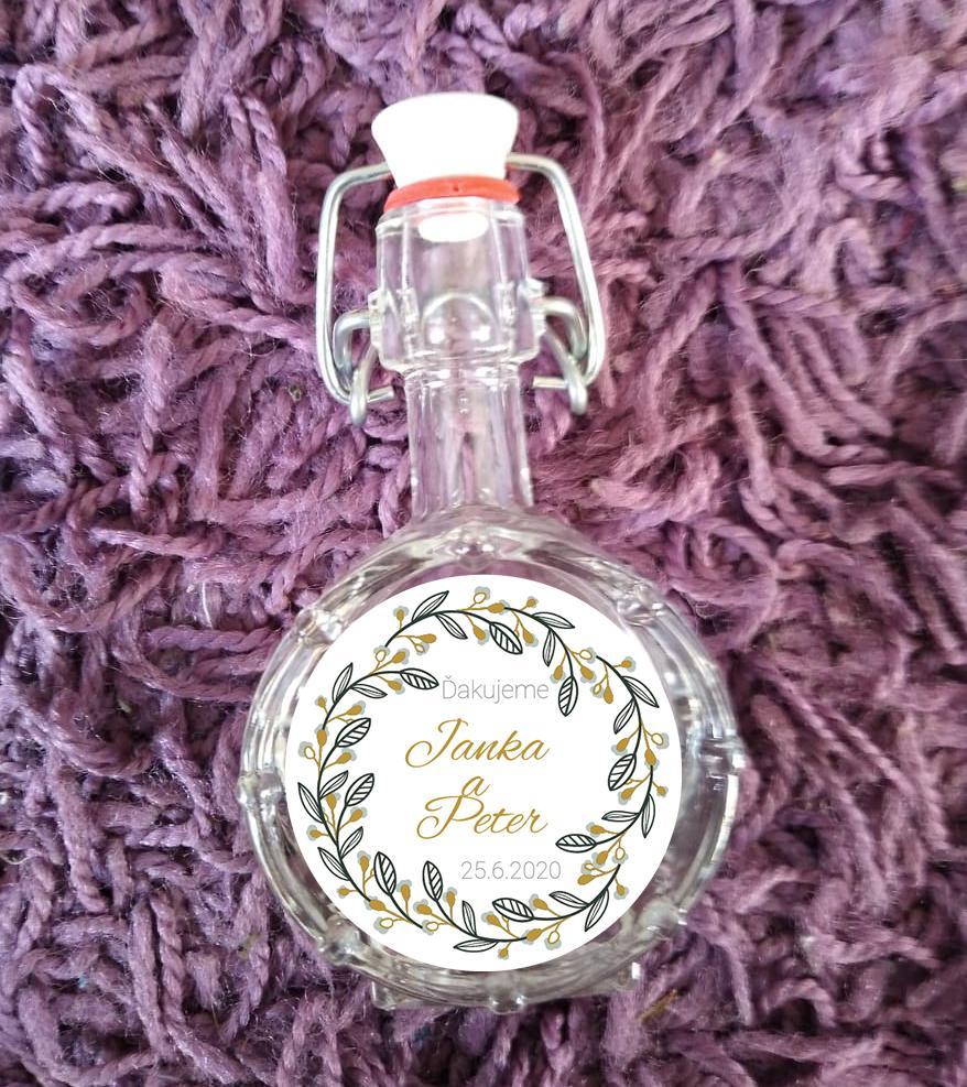 Svadobné fľaštičky - Obrázok č. 1