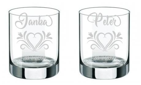 Svadobné poháre PV - Obrázok č. 1
