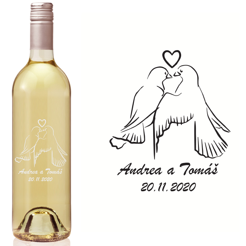 Etikety na fľaše VR1 - Obrázok č. 1