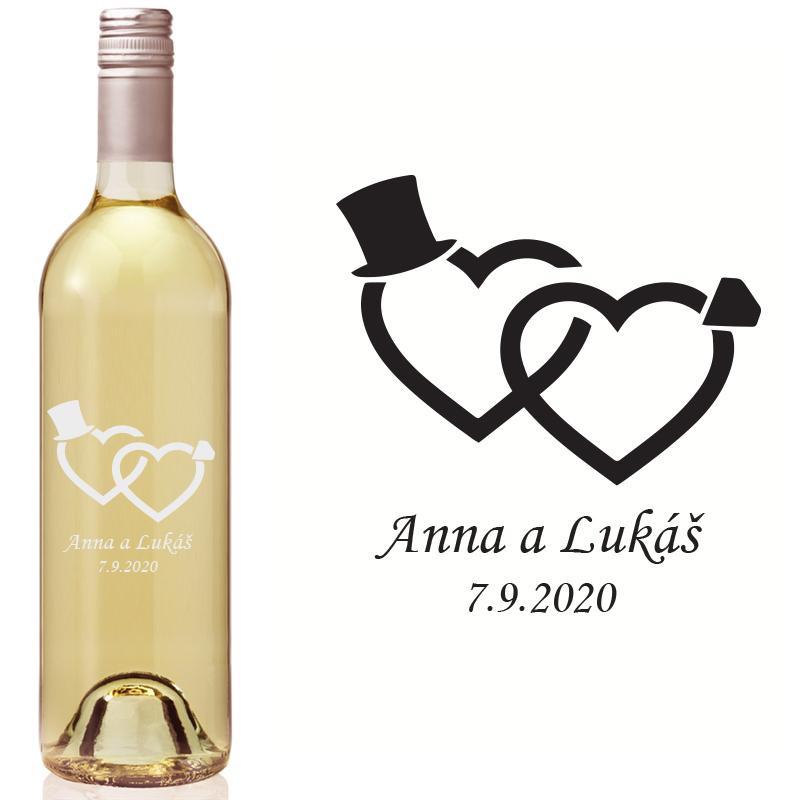 Etikety na fľaše VR2 - Obrázok č. 1