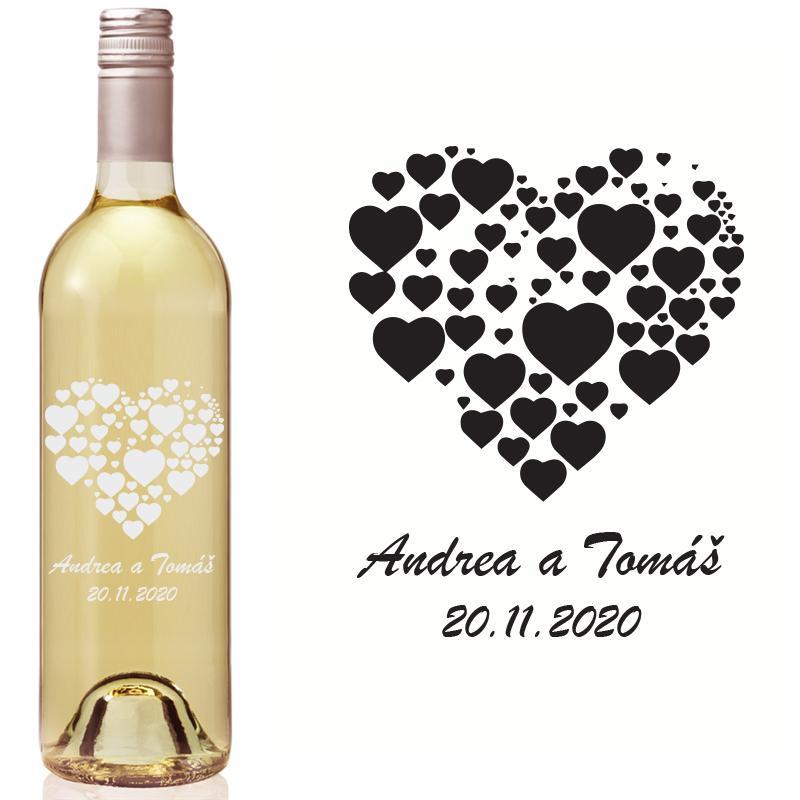 Etikety na fľaše VR4 - Obrázok č. 1