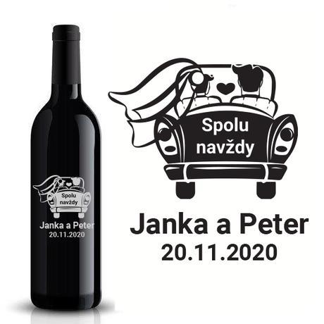 Etikety na fľaše VR5 - Obrázok č. 1