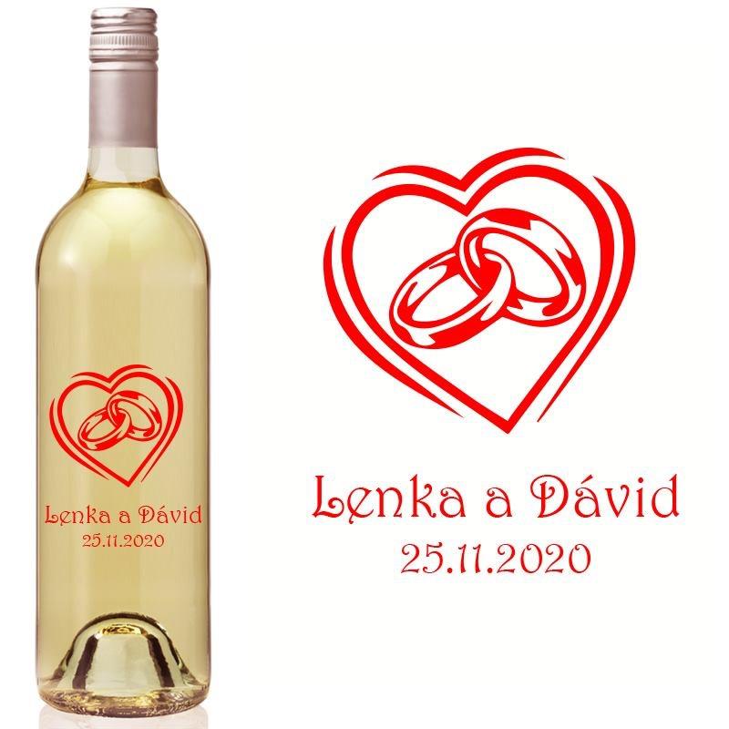 Etikety na fľaše VR10 - Obrázok č. 1