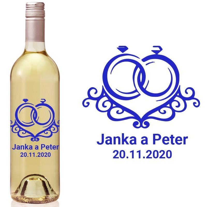 Etikety na fľaše VR12 - Obrázok č. 1