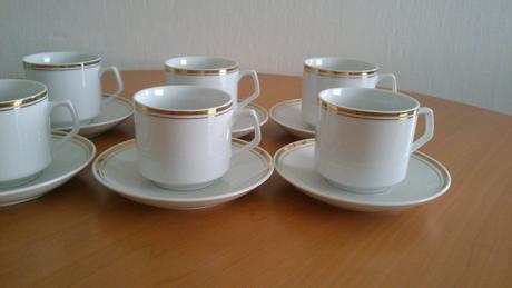 Kávové šálky -6ks - Obrázok č. 1