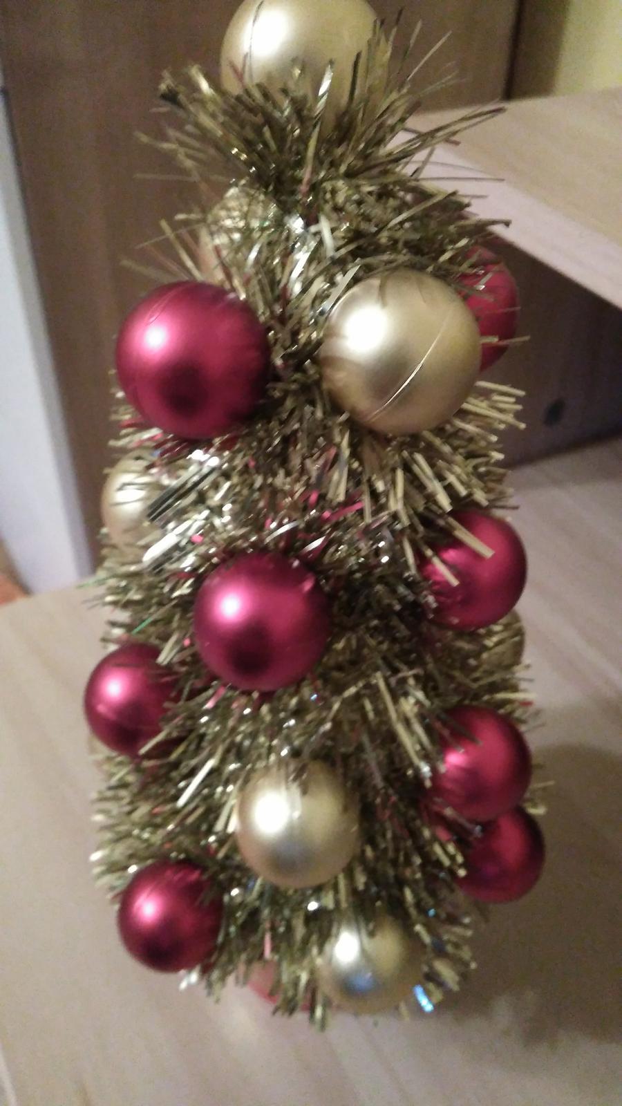 Vianočná dekorácia-stromček - Obrázok č. 2
