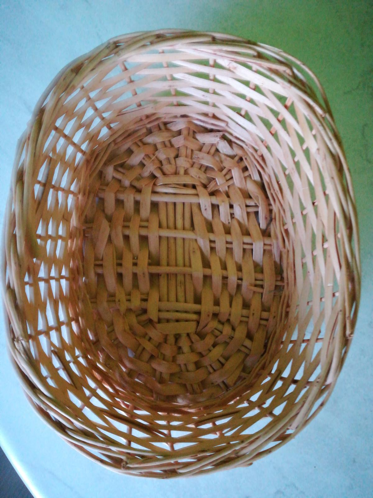 Prútený košík  - Obrázok č. 1