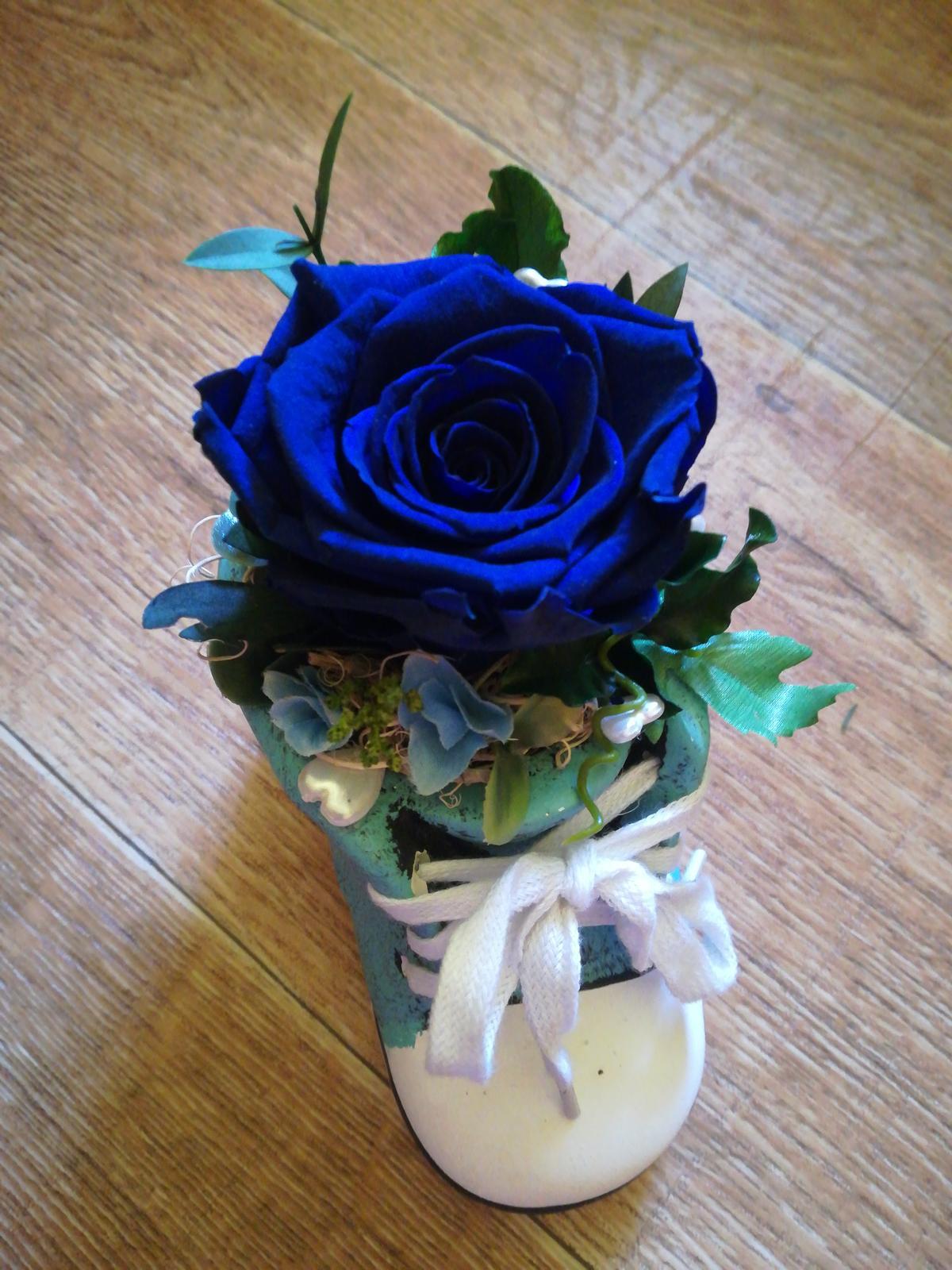 Stabilizovaná ruža, aranžmán  - Obrázok č. 1