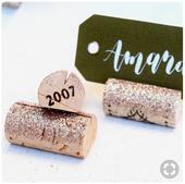 Stojany - držiaky na svadobné menovky,