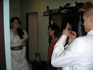 Prvykrat v svadobnom