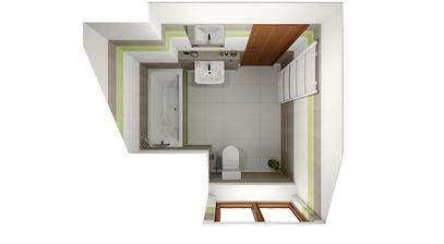 Horní koupelna 1
