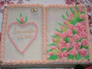 ....polovička svadobná, polovička narodeninová ... darček k mojej 30tke :-)