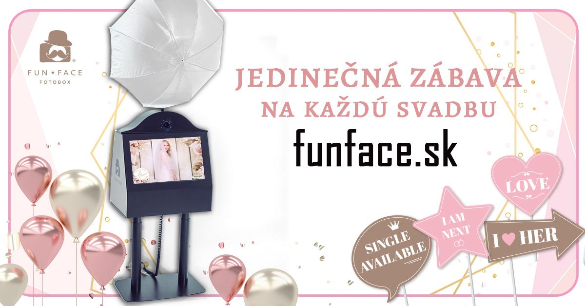 Leto plné svadieb je za rohom 🕊 Rezervujte si FunFace Fotobox a zažite jedinečnú zábavu s bonusom v podobe krásnych tlačených fotografií 📷 #svadba2020 #funfacefotobox - Obrázok č. 1