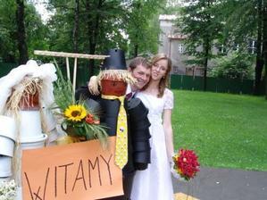 Prý, že jsme dlouho nejeli, tak si pořídili náhradní novomanžele