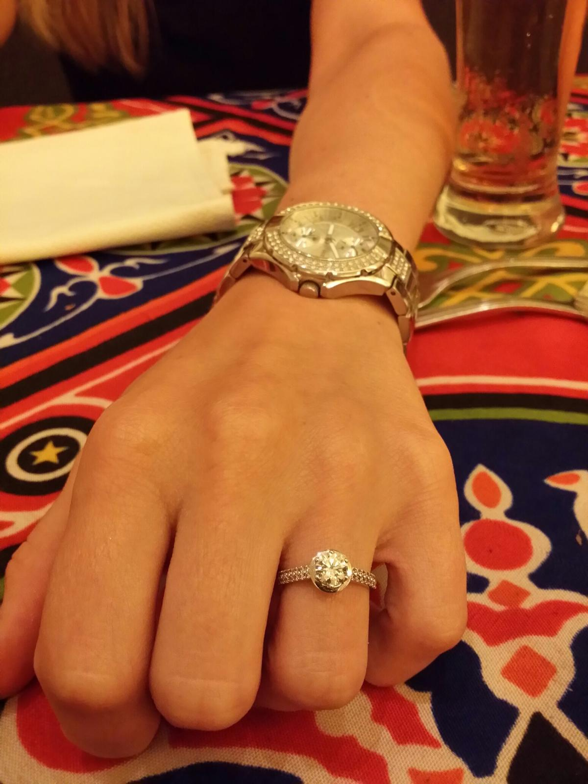 Zásnuby - Zásnubní prstýnek