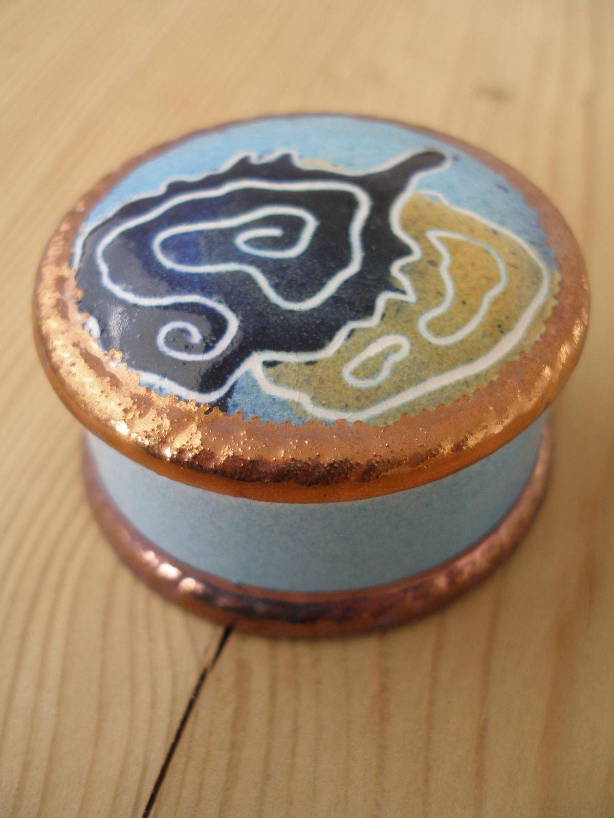 Porcelánová šperkovnica - Obrázok č. 1