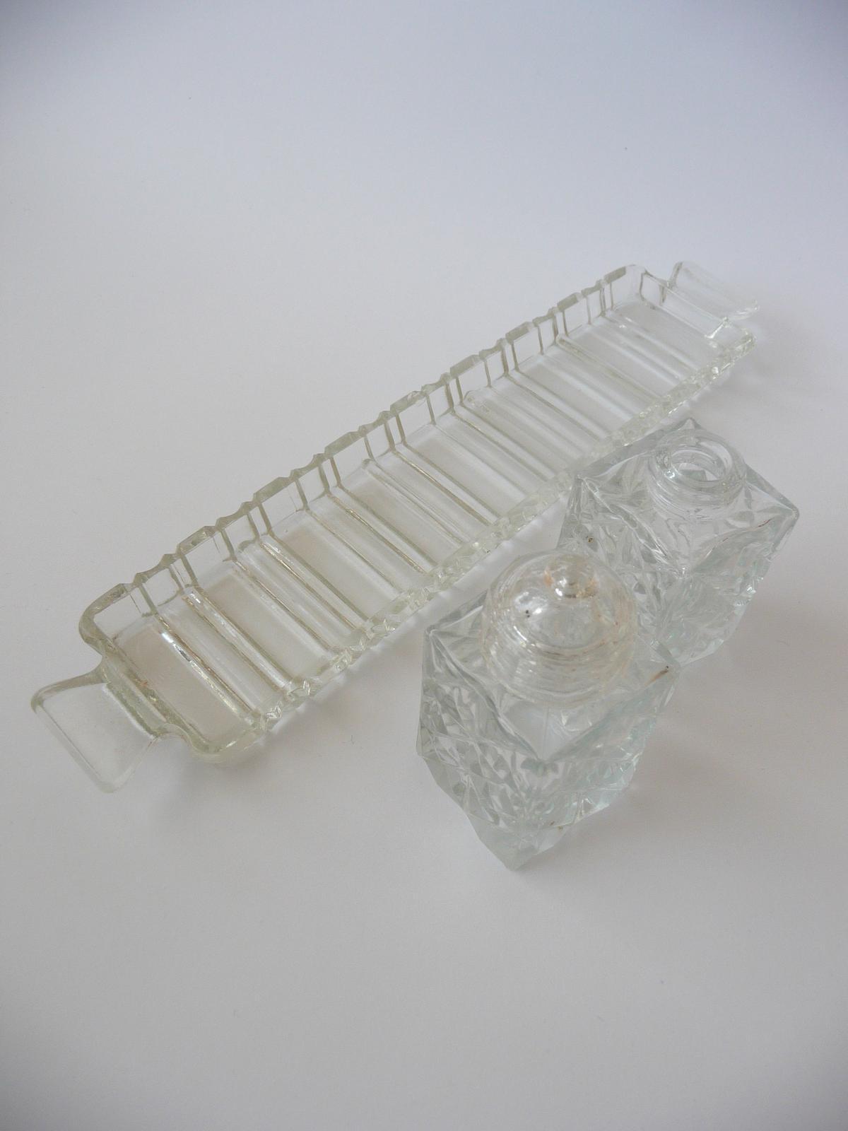 Staré sklo - soľnička - Obrázok č. 1