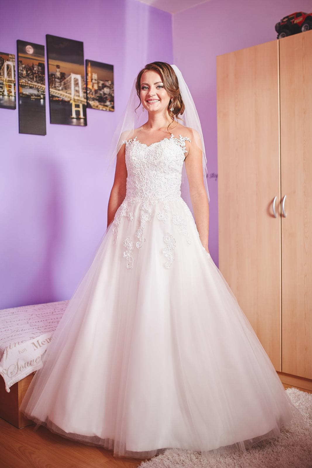 Svadobné Šaty šité svadobný ateliér by Salón Renky - Obrázok č. 1