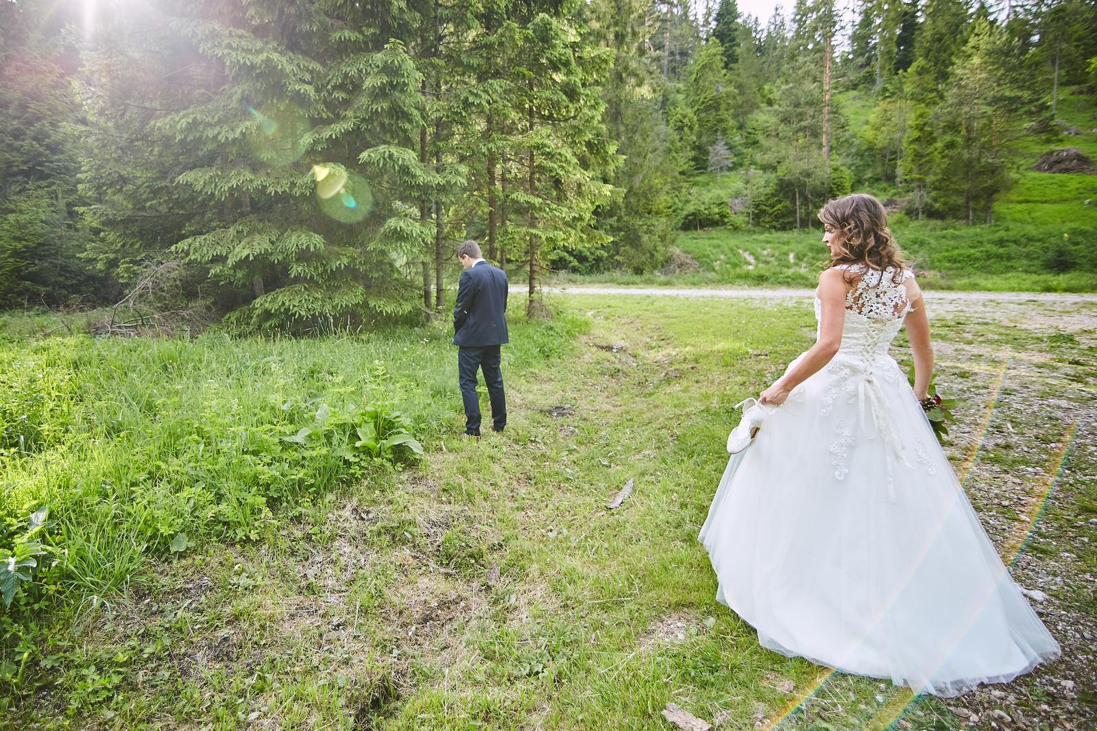 Svadobné Šaty šité svadobný ateliér by Salón Renky - Obrázok č. 4