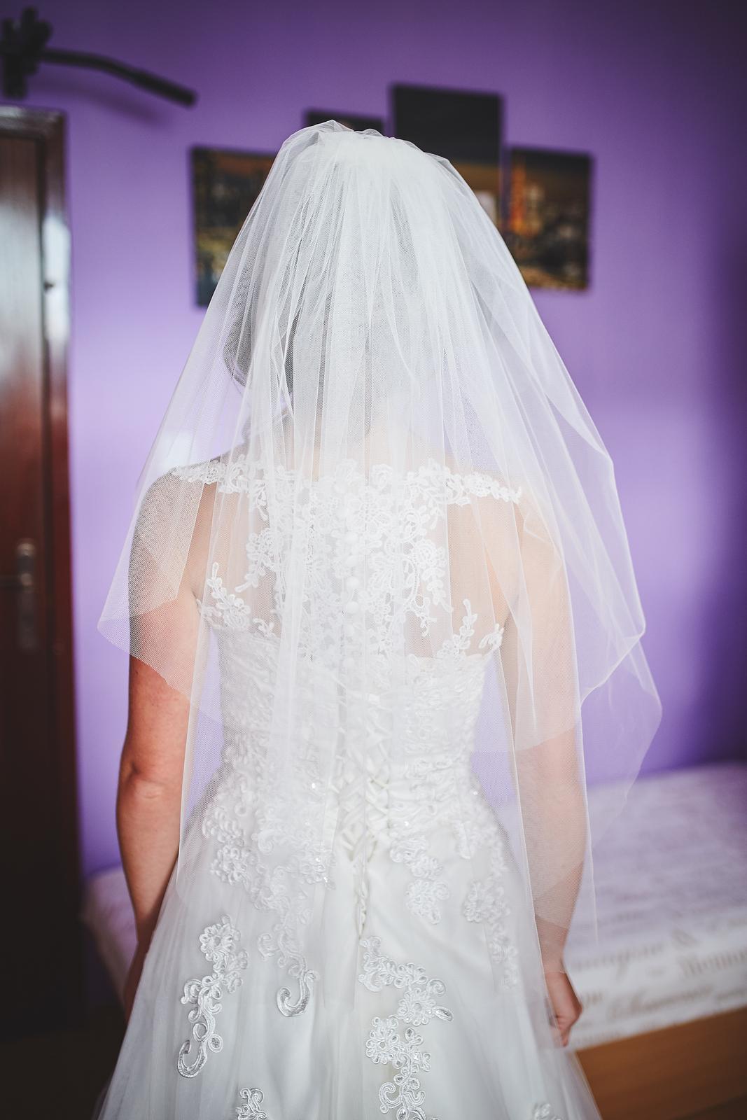 Svadobné Šaty šité svadobný ateliér by Salón Renky - Obrázok č. 2