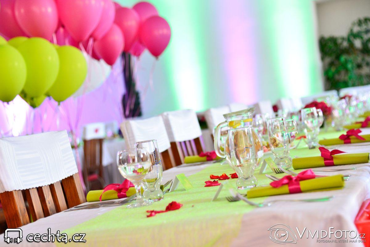 cechta - Nasvícení v barvách svatby... 19.07.2014