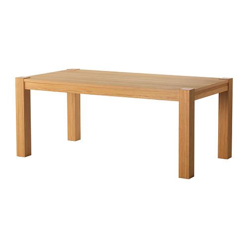 Kuchyňka s obývákem - stůl Hogsby menší varianta pro 4 - Pořízeno :)
