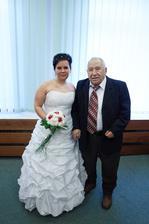 manželův dědeček a svědek