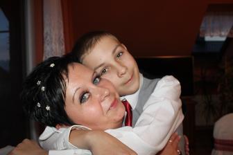 i v 11 se umí pomazlinkovat s mamčou :)