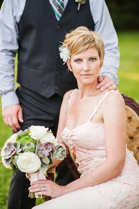 Krátkovlasé nevěsty ... - Obrázek č. 30