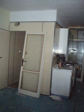 dveře do koupelny na původním jádru :-)