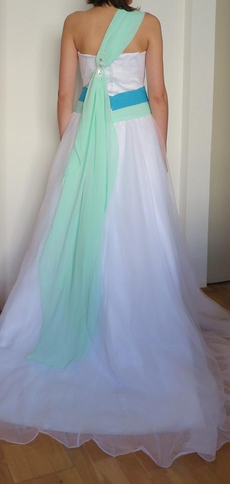 Svadobné/ spoločenské šaty - Obrázok č. 2