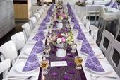 Maxi set z fialové svatby,