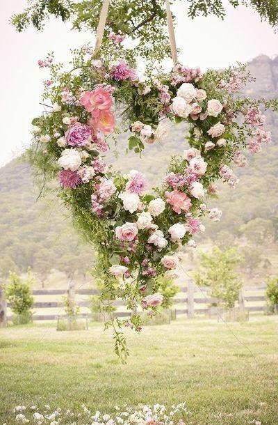 Inšpirácie-svadobné srdcia a kytice❤ - Obrázok č. 1