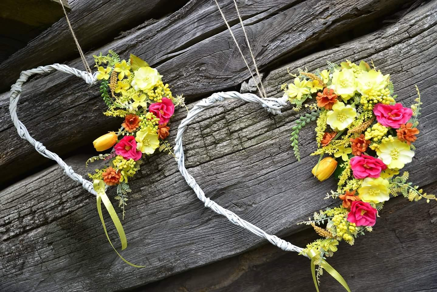 Inšpirácie-svadobné srdcia a kytice❤ - Obrázok č. 3